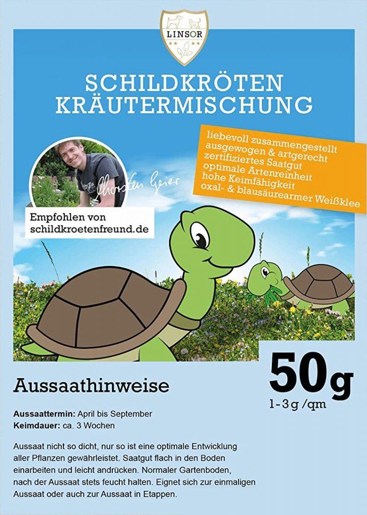 Schildkröten Kräutermischung